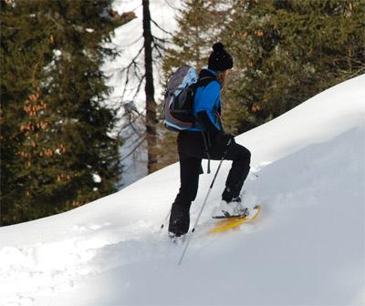 Come vestirsi per camminare con le ciaspole | Trekking.it