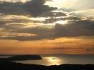tramonto sull'isola dell'asinara sardegna foto di becchetti maria