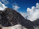 La Cresta verso il Picco di Carnizza in discesa dal Monte Canin