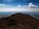 verso la croce di vetta - Monte Fara