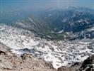 Monte Nero - la vallata con il Krnsko Jezero
