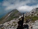 Monte Nero - Vista verso il Monte Nero dalla Batognica