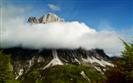 La Creta Grauzaria tra le nuvole