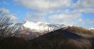 Il Monte Nero visto   dalla cima del Monte S.Martino
