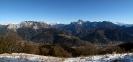 Panorama dal monte Cuar ( Navantes)