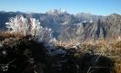 Punto di vista dalla cima del M.Paularo