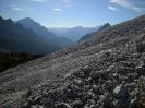 Sentiero Fassoz - sul ghiaione della Creta Grauzaria