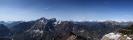 panorama dal Monte Vualt