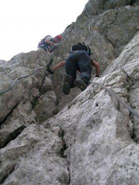 Monte Mangart - ferrata italiana, slovena e via normale